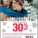 Aeropostale Friends and Family Sale – 30% off