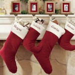 Pottery Barn Monogrammed Christmas Stockings + Free shipping
