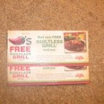 Chili's Guiltless Grill giveaway