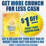 Printable coupon round-up: Cheerios, Dove, Nabisco, Nexxus, and more!