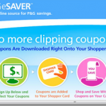 P&G e-Saver coupons are BACK!