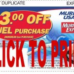 Save $3 off a $20 gas purchase at Murphy USA