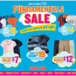 Save big at the Old Navy Fundamentals sale plus get 10% cash back!