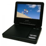 Target daily deal: Axion Portable DVD player for $49.99 shipped!