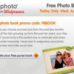 Get a free photo book from Walgreens!