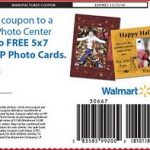 Two free 5X7 photo cards from Walmart!
