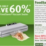 Get the FoodSaver Vacuum Sealer V2040 for just $43.99 shipped!