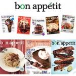 Bon Appetit Magazine for $3.99!