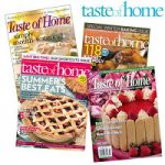Taste of Home and Family Circle subscriptions for $3.99!