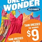 Old Navy's One Day Wonder: Tank dresses from $7-9!
