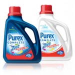 Get a free sample of Purex with Zout!