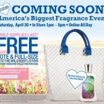 Bath & Body Works freebie:  free tote and body lotion!