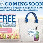 Bath & Body Works freebie:  free tote and body lotion!