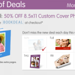 Walgreens:  50% off custom photo books!