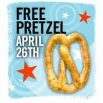 Free Pretzel Day at Pretzelmaker!