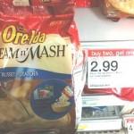Target:  Ore Ida Steam 'N Mash Deal!