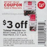 Print & Save:  Free Tylenol Precise @ Walgreens