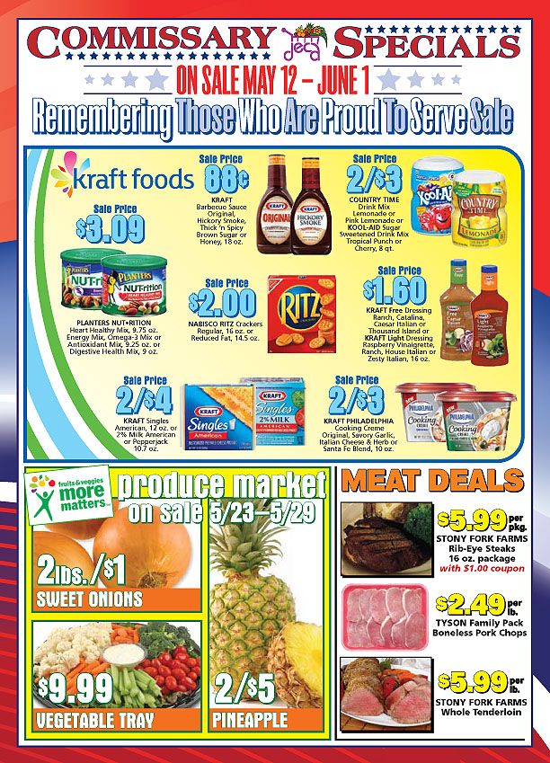 Commissary deals