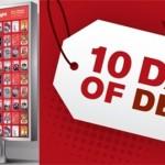 Redbox:  10 days of deals!