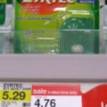 Target:  Get Zyrtec for $.76!