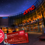 AMC Movie Tickets for as low as $4.75 each!