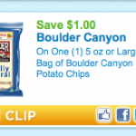 Printable coupon alert:  $1/1 Boulder chips is BACK!