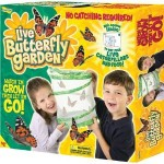 HOT GROUPON:  Live Butterfly Garden + Caterpillars for $10 shipped!