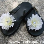 Hobby Lobby:  40% off printable coupon + Frugal Flower Flip Flops!