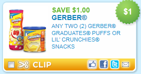 graphic regarding Gerber Printable Coupons identify Melissas Savings » Incredibly hot: Gerber Graduates printable discount codes!!