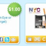 Target:  Cheap NYC lip gloss & Rimmel eye shadow!