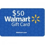 Back to School Giveaway:  $50 Walmart gift card!