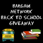 Bargain Network Back to School Giveaway Master Giveaway List