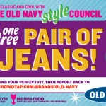 Crowdtap:  Free Old Navy Jeans for you AND a friend?!