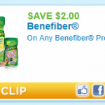 Walgreens:  Benefiber only $2.99 after coupons!