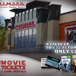 $15 for 2 AMC Gold or Cinemark movie tickets + 2 game rentals!