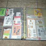 Coupon Binders on a budget:  under $9!