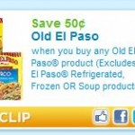 Printable Coupon Alert:  Old El Paso coupons = free or cheap items!
