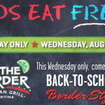 Kids Eat Free at On the Border!