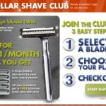Dollar Shave Club = razors for as low as $1.99/month!