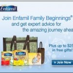 Freebie Alert:  Join Enfamil Family Beginnings and get FREE formula samples!