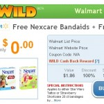 HOT FREEBIE:  Free Nexcare bandages from Walmart!