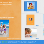 Walgreens:  Get a FREE 8X10 single image enlargement – TODAY only!
