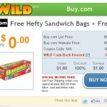 **HOT:  Free Hefty sandwich bags + FREE shipping!