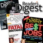 Reader's Digest Magazine:  $3.99 for a one year subscription!