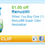 Renuzit Super Odor Neutralizer:  moneymaker after coupon at Walmart!
