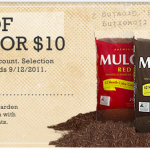 Get Premium Mulch for just $2.50/bag at Lowe's!