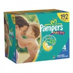 Pampers diapers:  as low as $.10/diaper shipped!