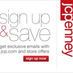 JC Penney:  Get valuable offers in your inbox!