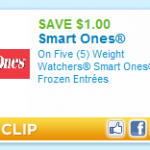 Weight Watchers printable coupons:  $3/10 and $1/5