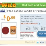 **HOT:  Free Yankee Candle or Potpourri Tart + free shipping!